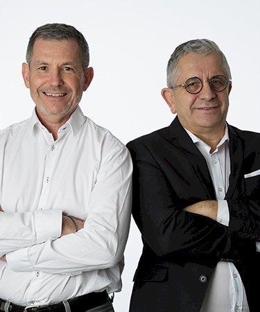 Jean-François Brémont et Dominique Perlade